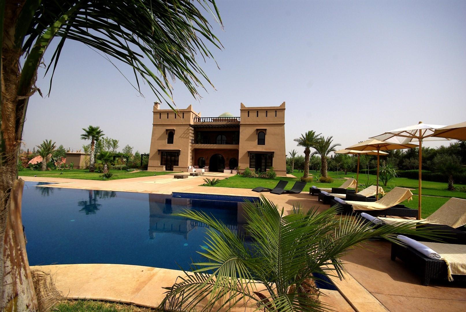 villa r ve d 39 orient superbe villa louer marrakech. Black Bedroom Furniture Sets. Home Design Ideas
