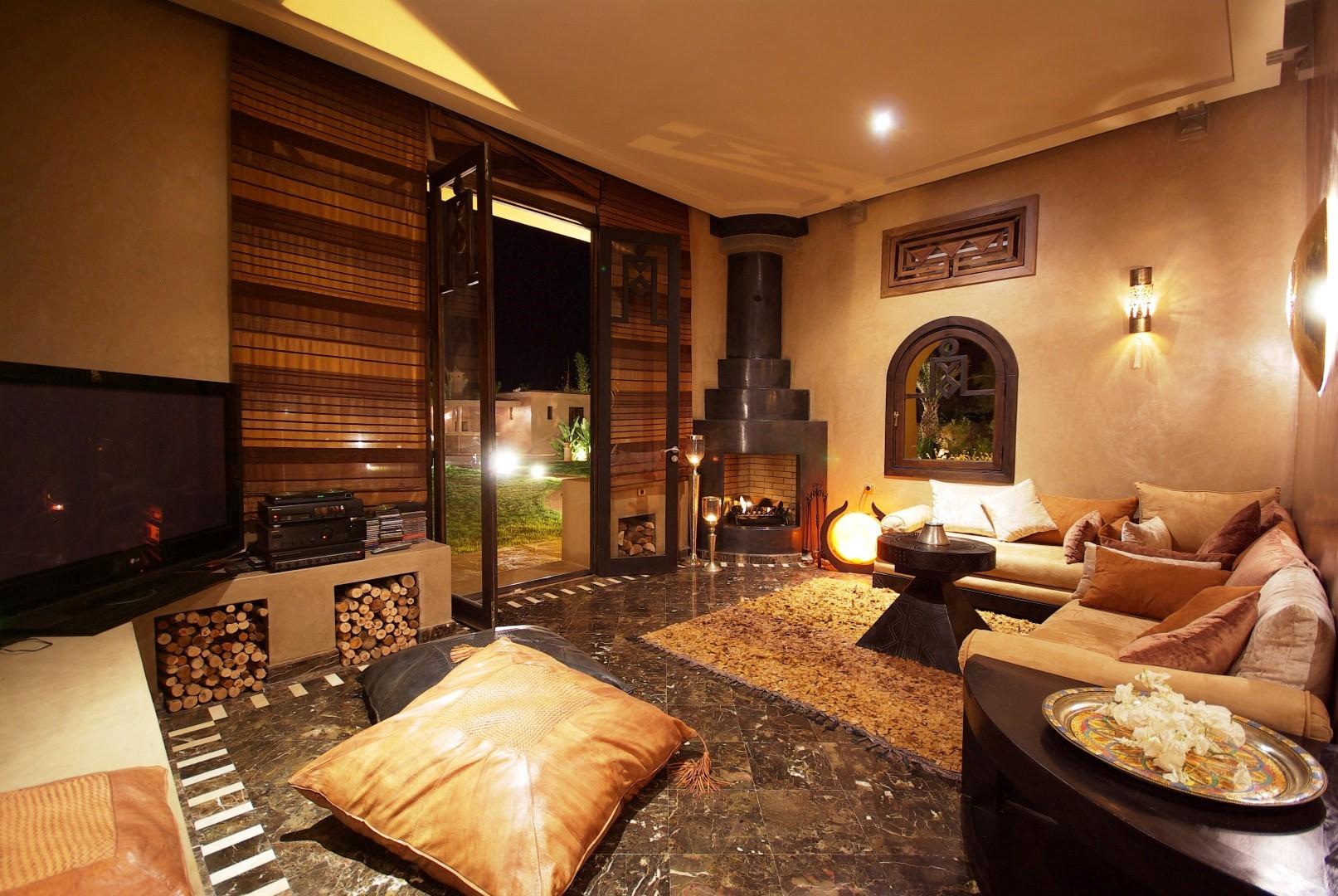 Villa r ve d 39 orient superbe villa louer marrakech - Interieur de maison de reve ...