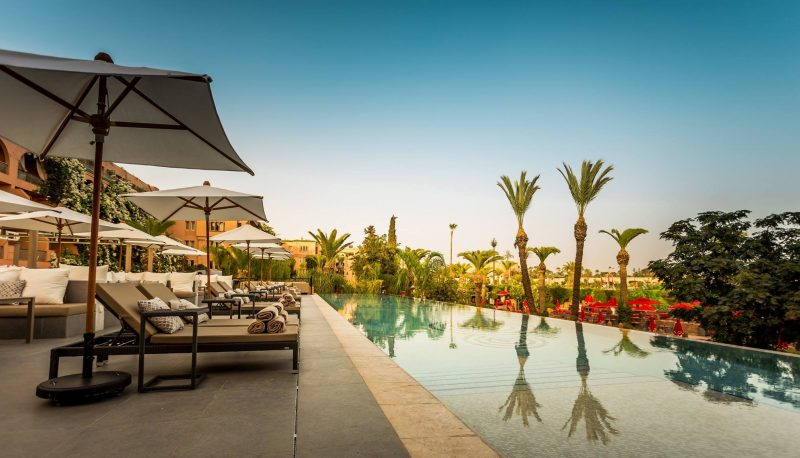 ultimate pool lounge marrakech