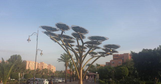 Des arbres photovoltaiques