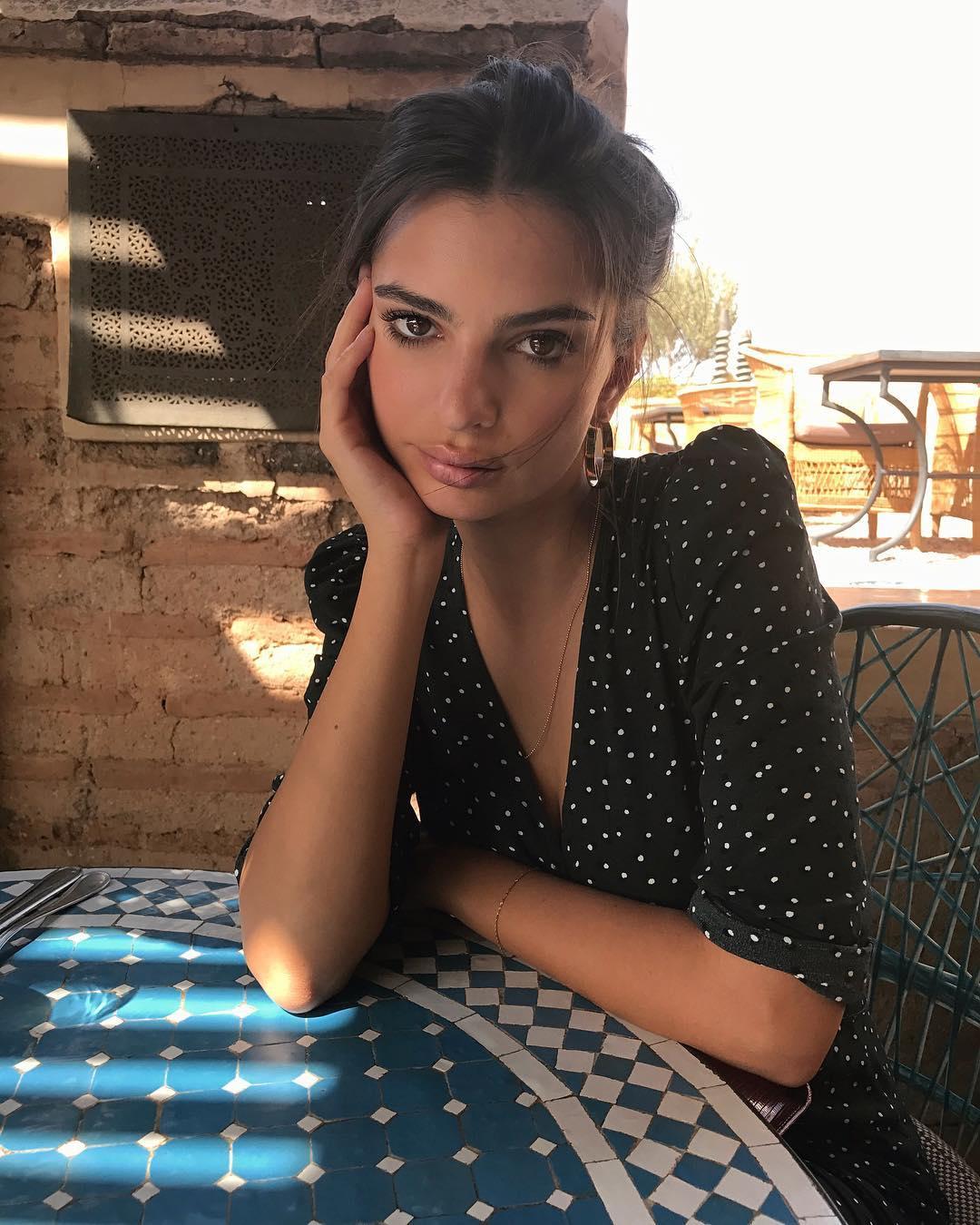 Emily Ratajkowski marrakech