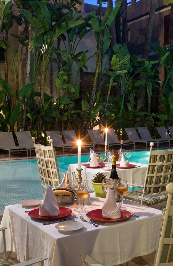 soirée marocaine les jardins de la médina 2