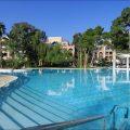 Es Saadi piscine hivernage marrakech