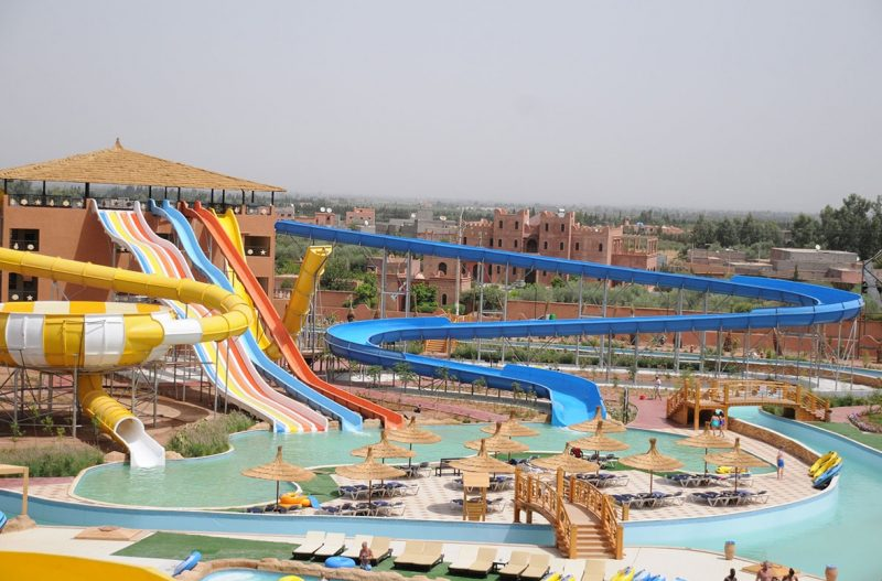 Aqua park marrakech mirage