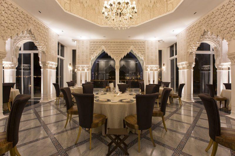 restaurant Marrakech cour des lions