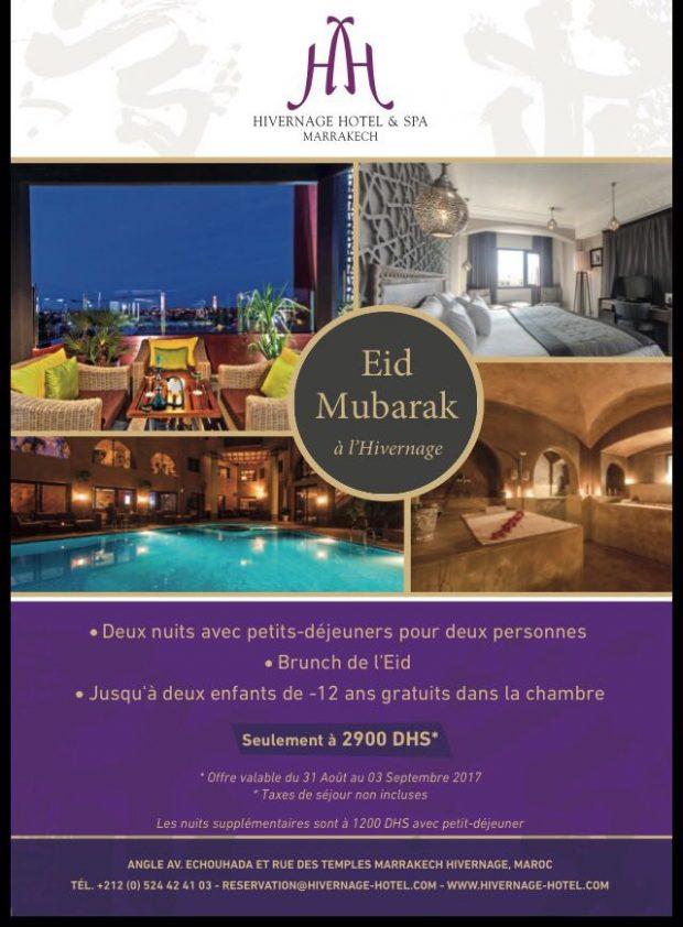 aid el kebir marrakech hivernage hotel