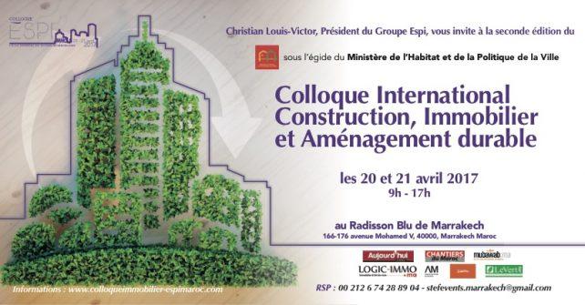 Colloque Immobilier Espi au Maroc