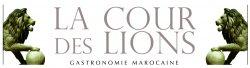 logo cour des lions Marrakech