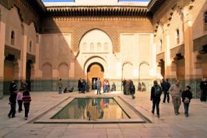 Medersa-Ben-Youssef Marrakech maroc