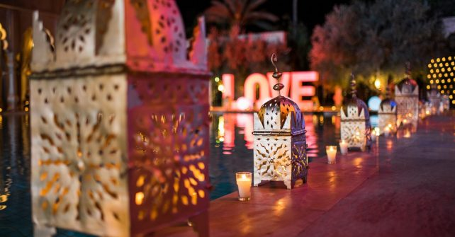Saint Valentin à Marrakech
