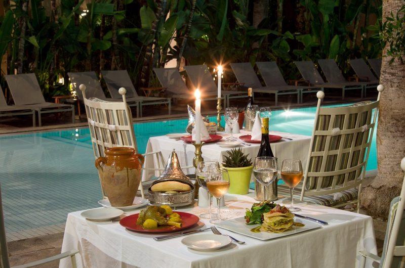 Restaurant marrakech les jardins de la medina 4