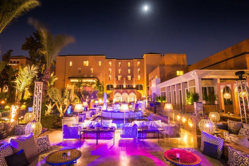 terrasse marrakech Sofitel