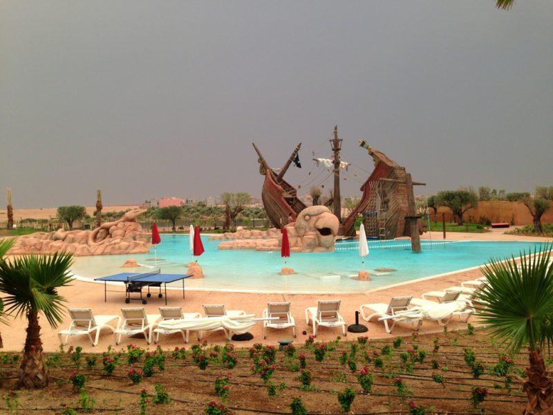 aqua park marrakech le vizir