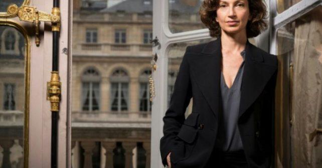 Audrey Azoulay à l'Unesco
