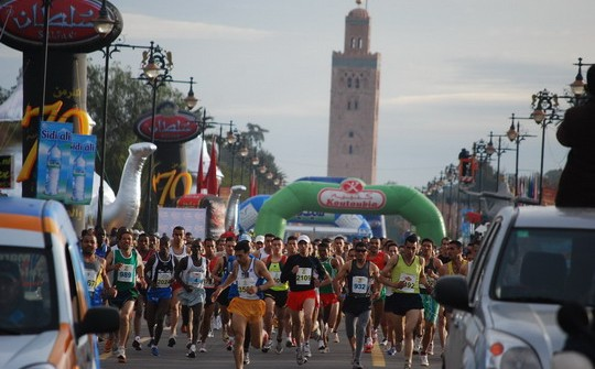 Participez au Marathon de Marrakech 2014