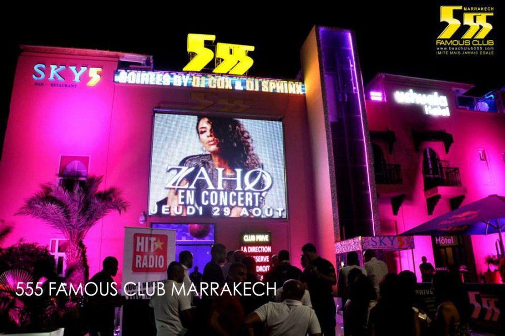 Boite de nuit 555 marrakech famous club 6 vid os photos for Exterieur boite de nuit