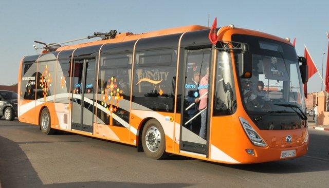 bus électriques marrakech