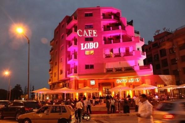 cafe lobo Marrakech