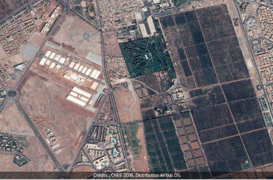 cnes-marrakech-la-cop22-vue-de-lespace