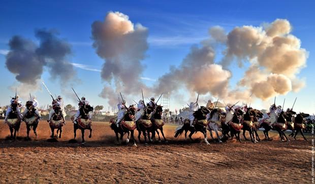 fantasia maroc marrakech