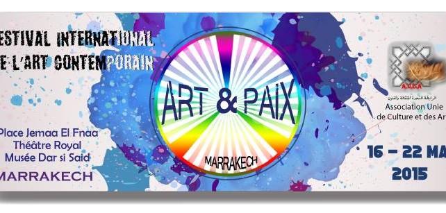 festival international de l'art contemporain Art-Paix Marrakech