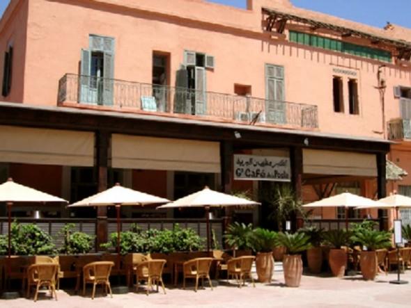 grand cafe de la poste marrakech