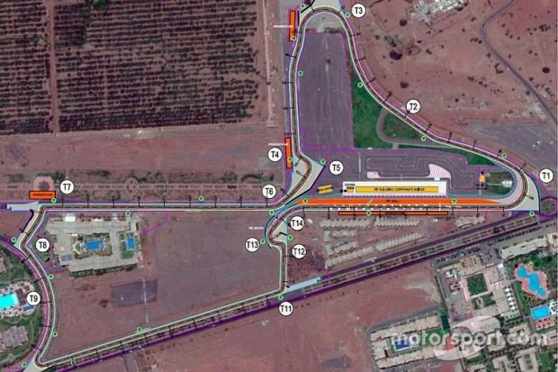 grand prix de marrakech wtcc 2016 le circuit