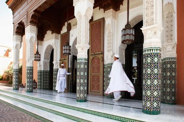 hôtel la mamounia marrakech maroc