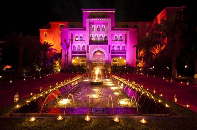 hotel de luxe marrakech sofitel palais impérial