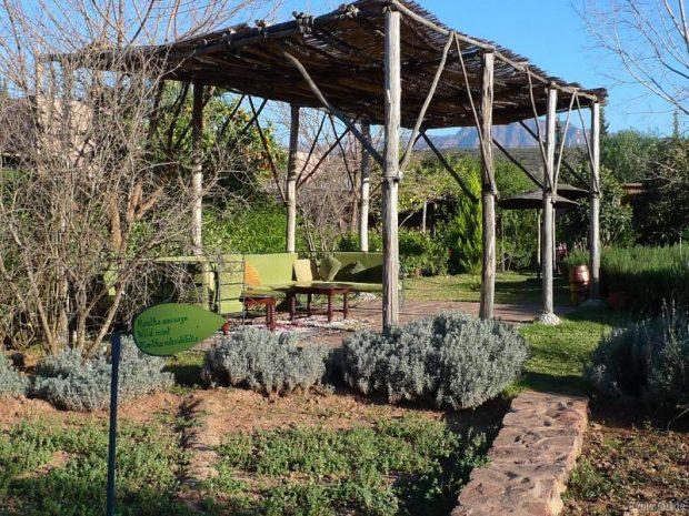 jardin bio aromatique de l'ourika