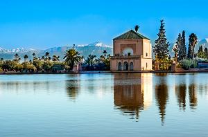 jardin de la menara marrakech