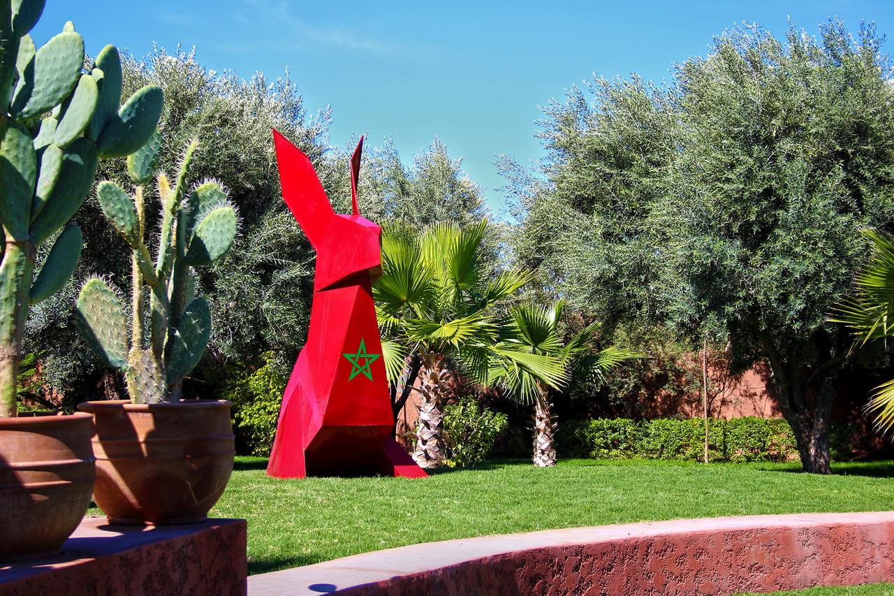 jardin rouge marrakech 4