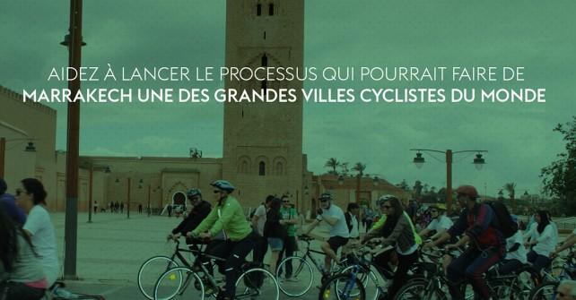 Journée sans voiture Marrakech 2016