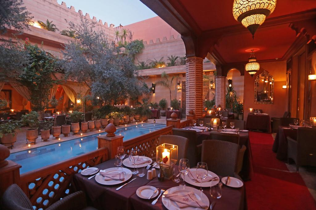 La maison arabe marrakech note booking et tripadvisor pour for Jardin madison menu