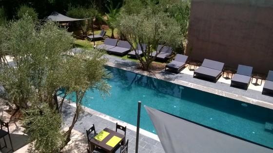 la villa oscar journée piscine marrakech