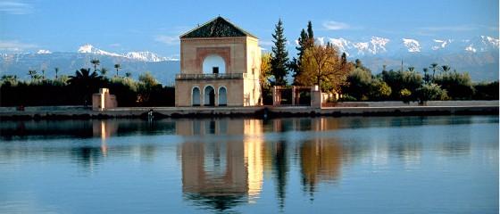 les jardins de la menara marrakech