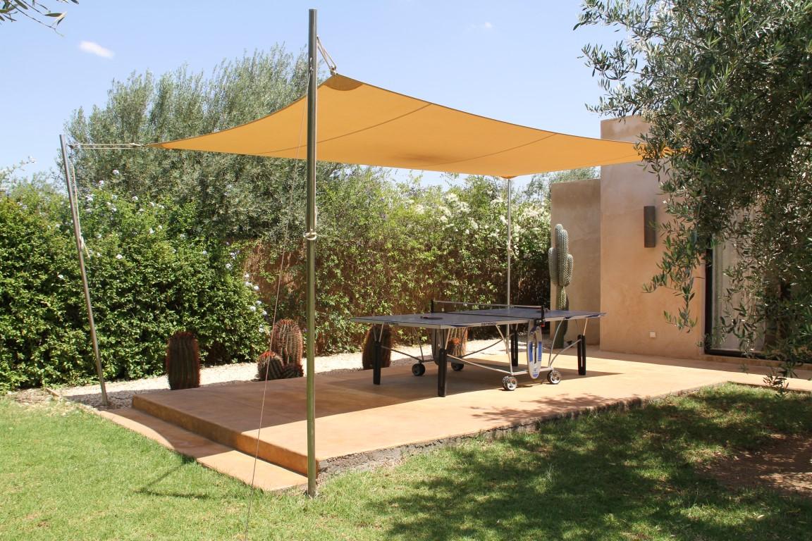 Location d 39 une villa marrakech avec piscine for Villa jardin nomade