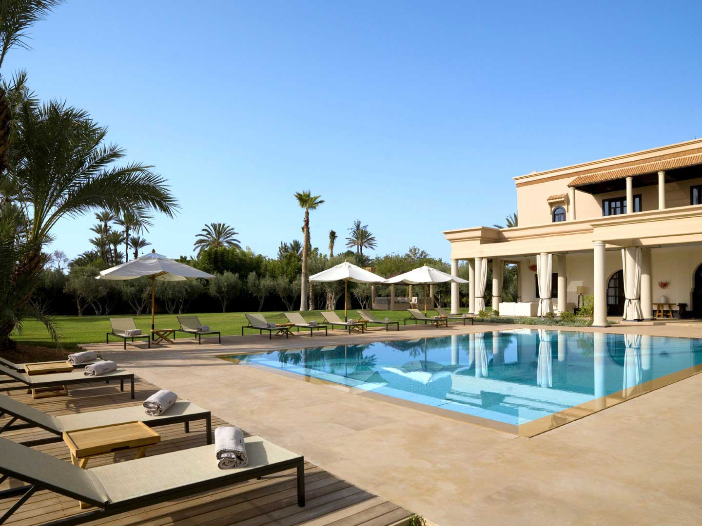 Location villa marrakech 25 villas de luxe viaprestige for Une villa de reve