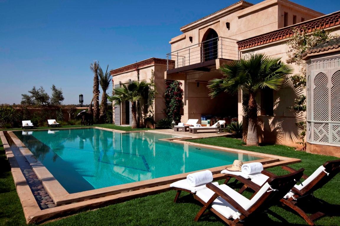 louer une villa marrakech villa esprit zen. Black Bedroom Furniture Sets. Home Design Ideas