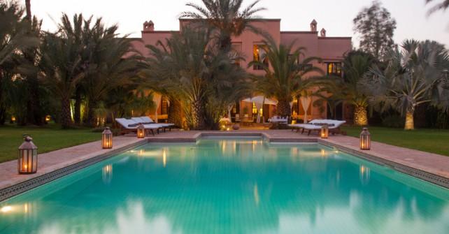 Location villa marrakech avec piscine priv e 30 villas for Villa des jardins marrakech