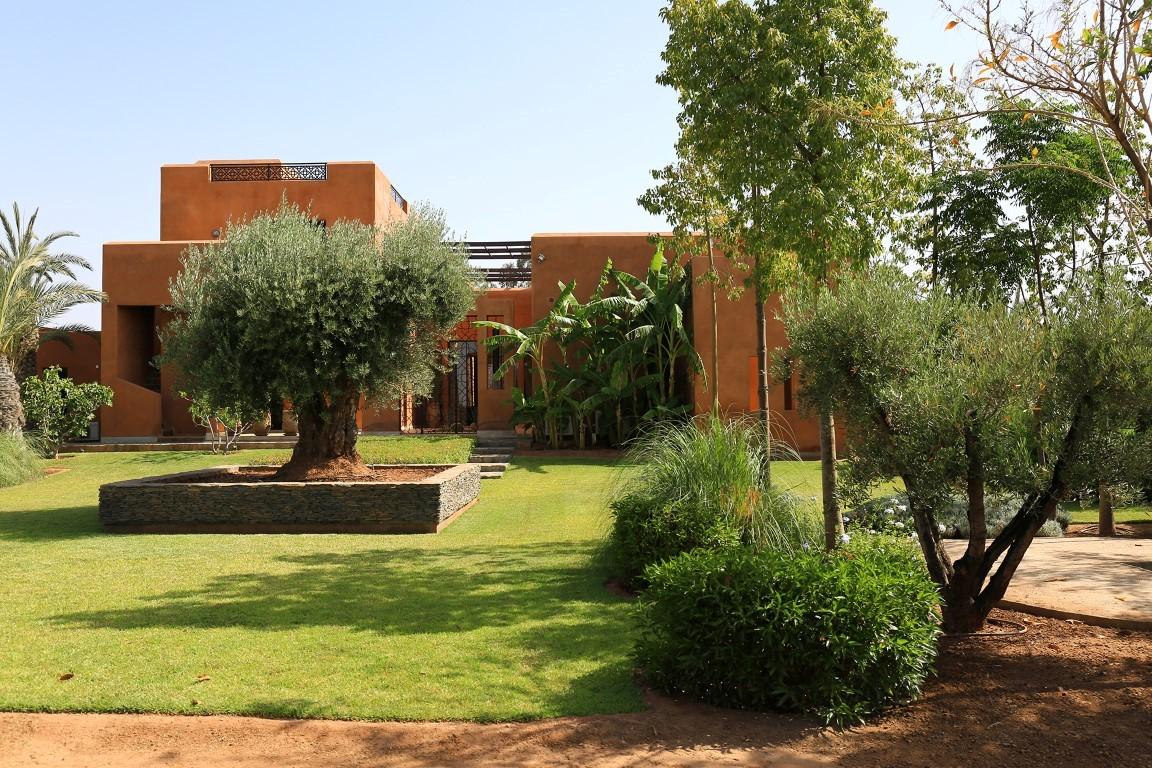 Villa Marrakech La Sentisive Louer En Exclusivit Au
