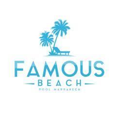logo famous beach marrakech