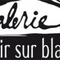 logo galerie noir sur blanc