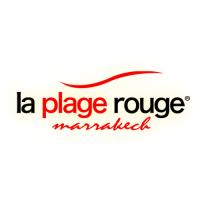 logo plage rouge marrakech piscine