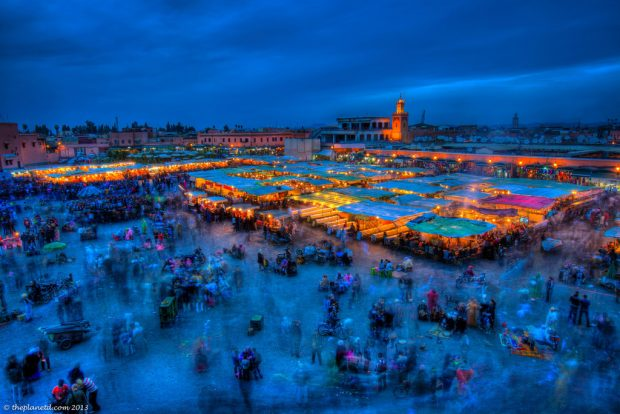 place jemma elfna marrakech