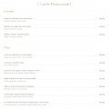 menu marocain Jad Mahal