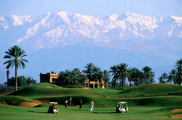 photo marrakech golf