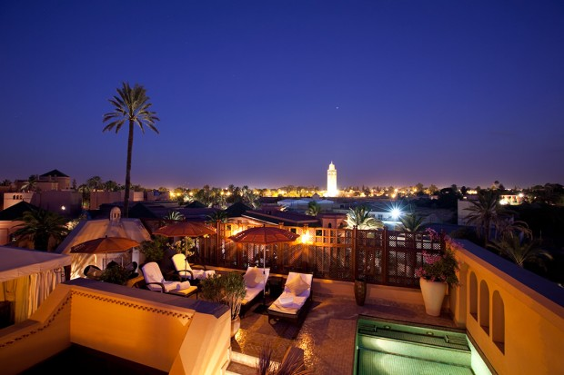 photo marrakech hotel royal mansour