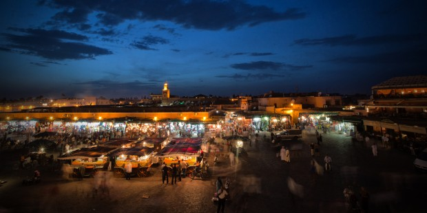 photo medina marrakech jemaa elfna