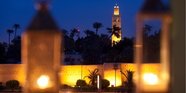 photo medina marrakech koutoubia